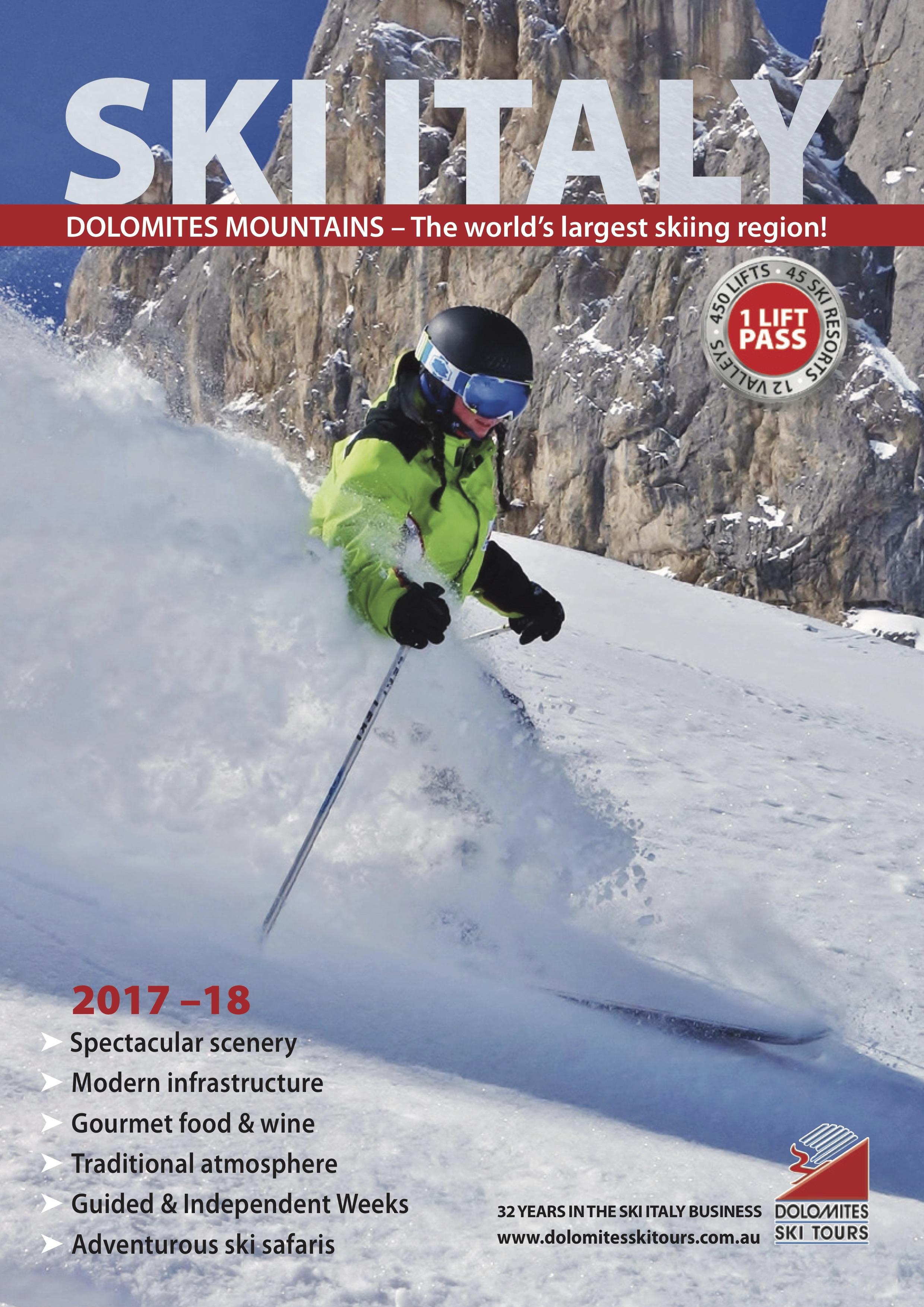 Ski tours in 2017 72