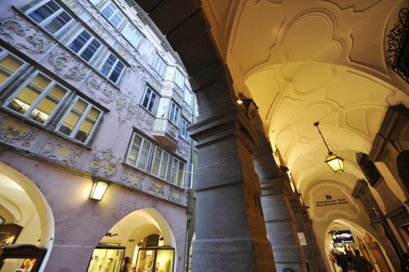 I Portici, photo courtesy of Bolzano Tourist Office