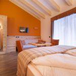 Orange and Creme Room