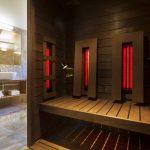 Suite VIP Ornella bathroom private sauna