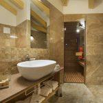 Suite VIP dell'Angelo bathroom private sauna